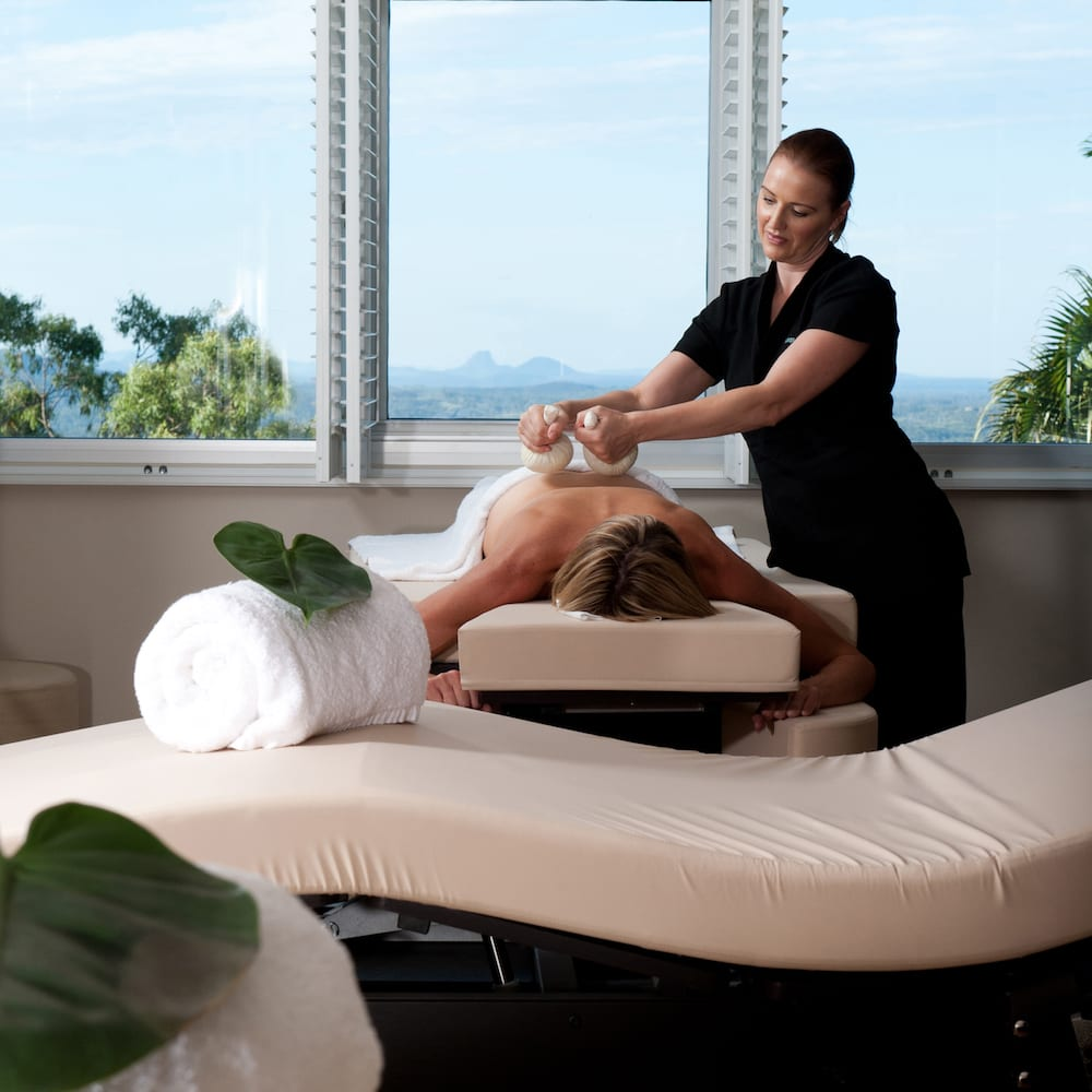 Massage therapy at The Banyans