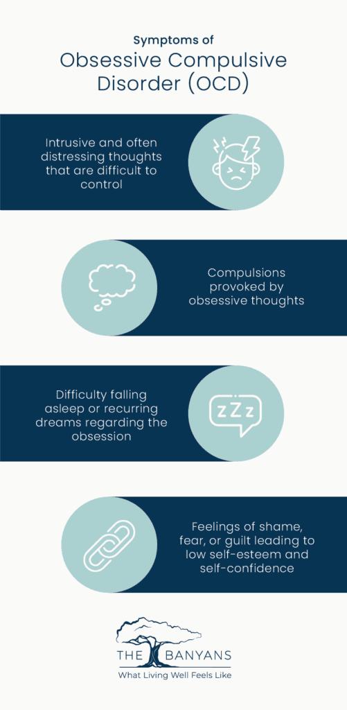 infographic of OCD symptoms